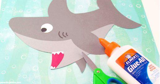Easy Shark Craft