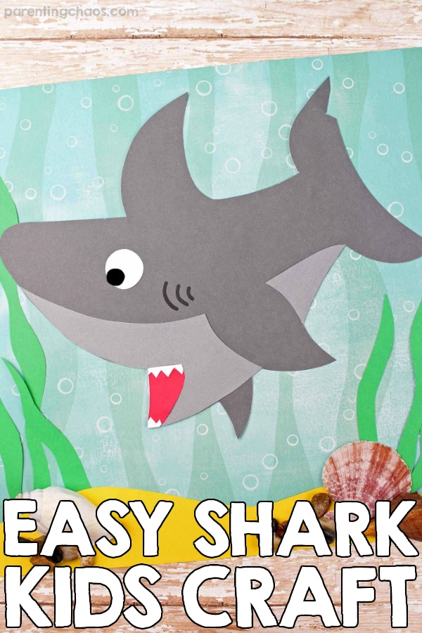 Easy Shark Craft for Kids