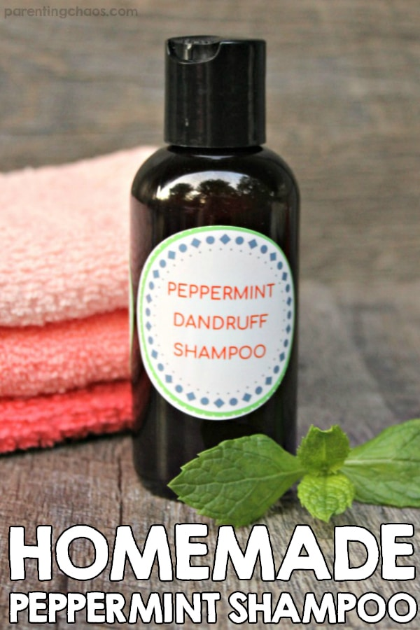 Homemade Rosemary Mint Shampoo Recipe