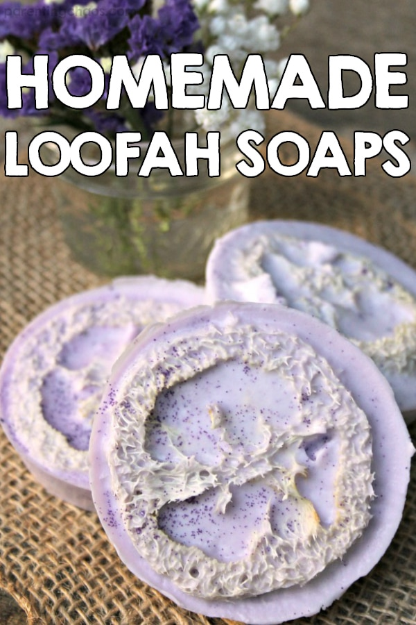 Homemade Loofah Soap