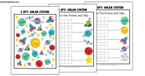 Space I Spy Game for Kids