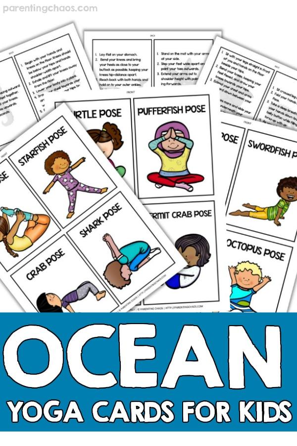 Ocean Themed Kids Yoga