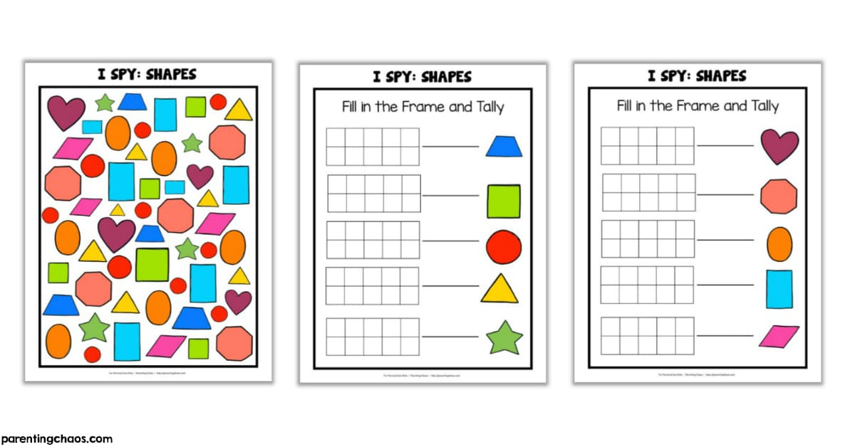 6cd1160d8a I Spy Shapes Printable Game for Kids ⋆ Parenting Chaos