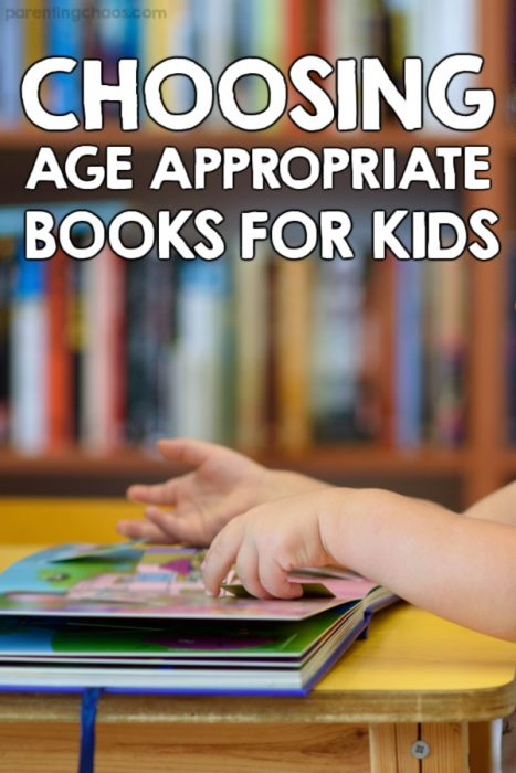 Choosing Age Appropriate Kid Books