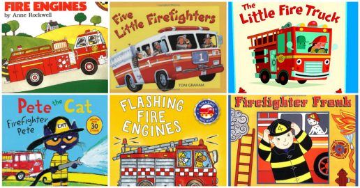 Firefighter and Fire Truck Books for Kids