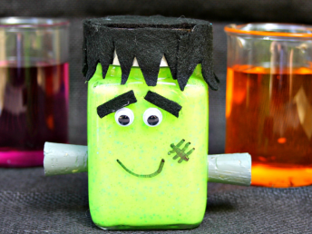 Glow in the Dark Frankenslime Recipe