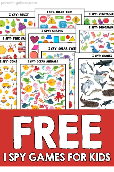 Free I Spy Games for Kids