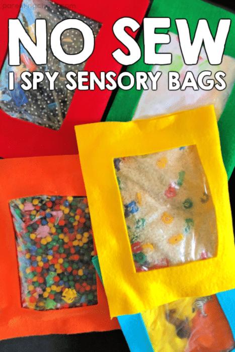 No Sew I Spy Bags
