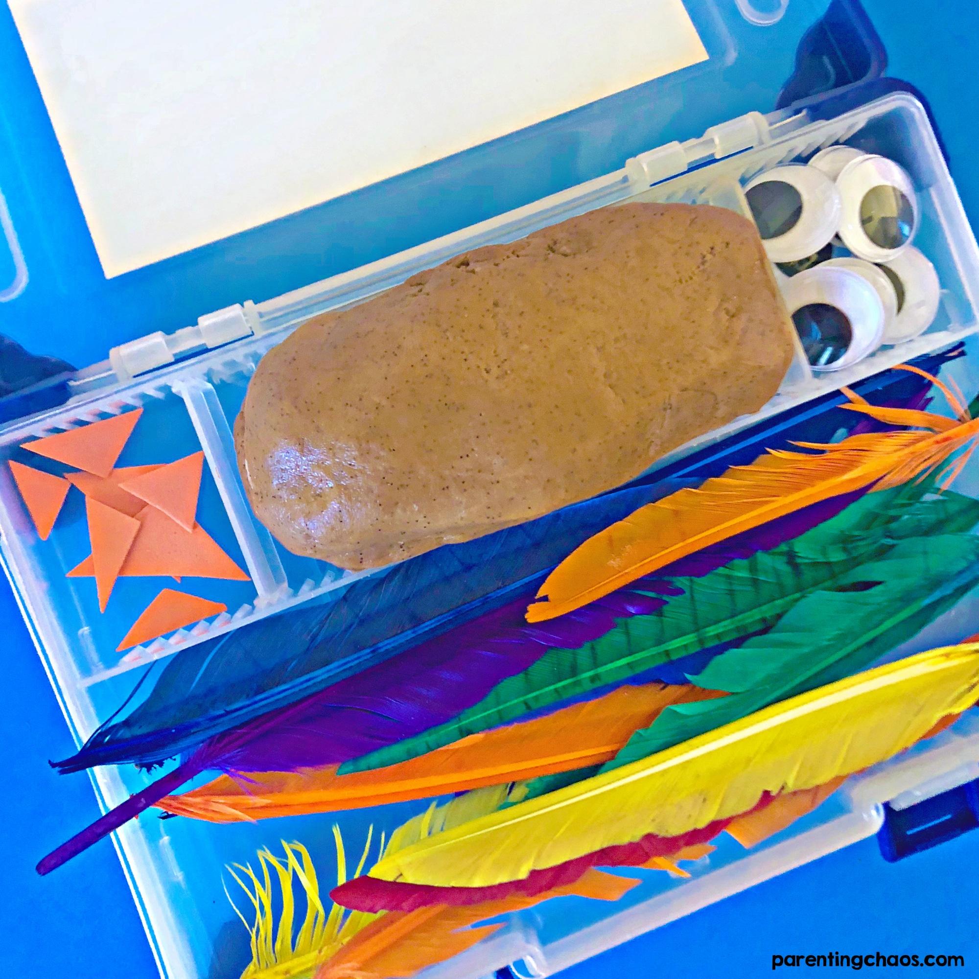 Build a Turkey Play Dough Kit