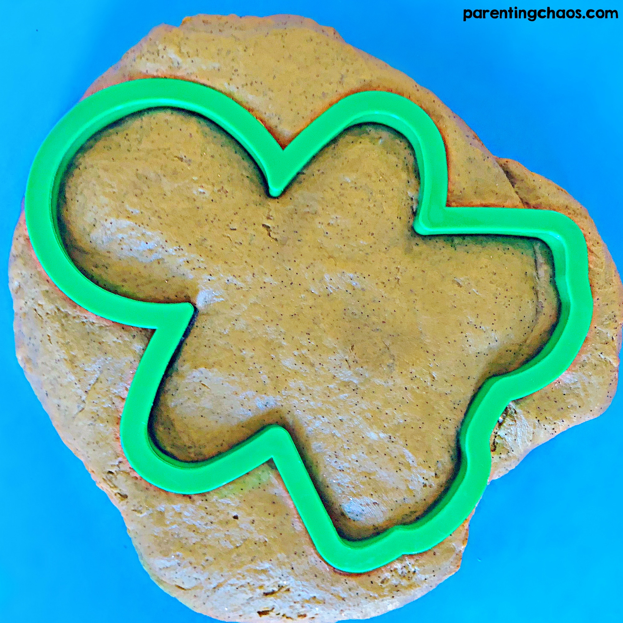 Gingerbread Playdough No Cook Recipe