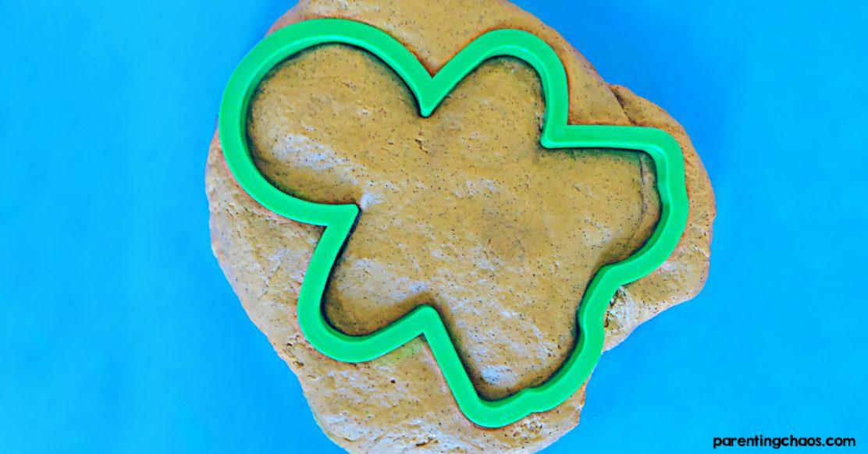 Gingerbread Playdough No Cook Recipe