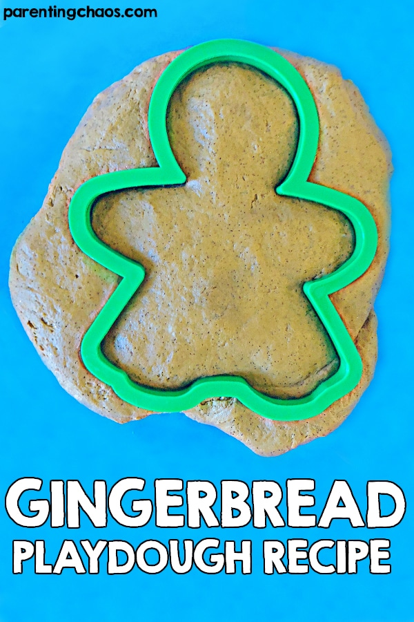 No Cook Gingerbread Playdough Recipe