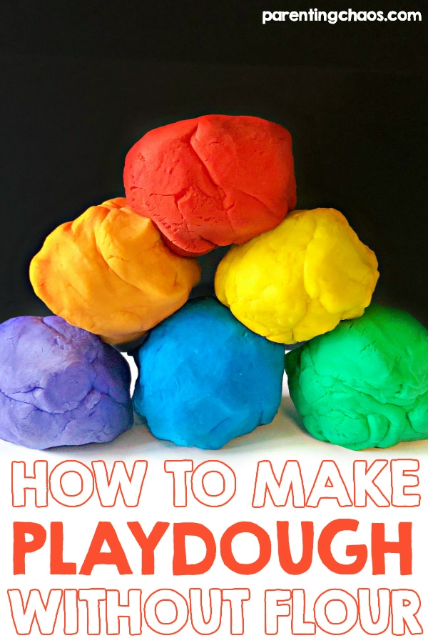 How to Make Playdough without Flour