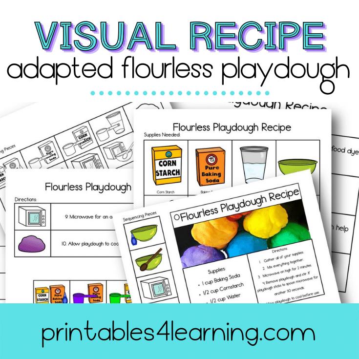 Adapted Visual Recipe: Flourless Playdough