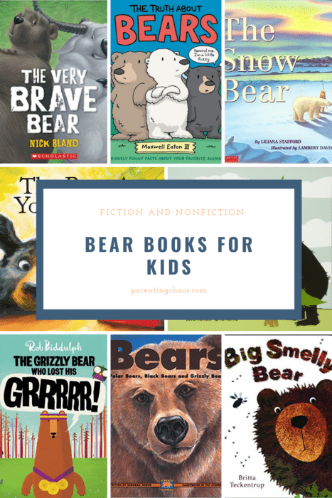 bear books for kids pin